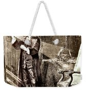 Isaac Newton Ray Of Light Weekender Tote Bag