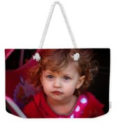 Isabelle - Chocolate Mouth Weekender Tote Bag