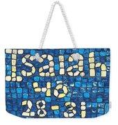 Isaiah 40 28-31 Weekender Tote Bag