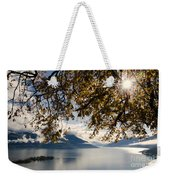 Islands On A Lake In Autumn Weekender Tote Bag