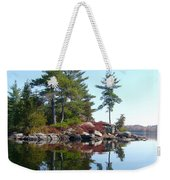 Isle - Natural Reflection Weekender Tote Bag