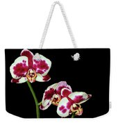 Isolated Orchids Weekender Tote Bag