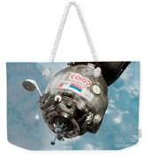 Iss Expedition 11 Crew Arriving Weekender Tote Bag