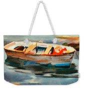 Istrian Fishing Boat Weekender Tote Bag