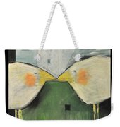 It Takes Two - Beak To Beak Weekender Tote Bag