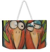 It Takes Two To Be Glad Poster Weekender Tote Bag
