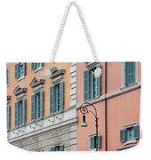 Italian Facade Weekender Tote Bag