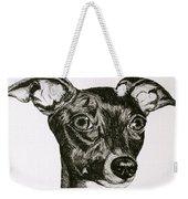 Italian Greyhound Weekender Tote Bag