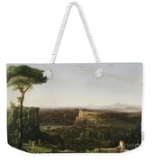 Italian Scene Composition Weekender Tote Bag by Thomas Cole
