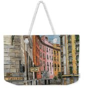 Italian Village 2 Weekender Tote Bag