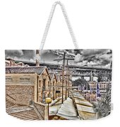 Italian Village-sydney Harbor Bridge Weekender Tote Bag