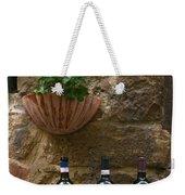 Italian Wine And Flowers Weekender Tote Bag