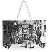 Italy: Acrobats, C1722 Weekender Tote Bag
