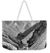 Italy: Carrara Mountains Weekender Tote Bag