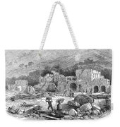 Italy: Earthquake, 1881 Weekender Tote Bag
