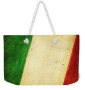 Italy Flag Weekender Tote Bag