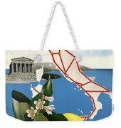 Italy Weekender Tote Bag