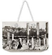 Italy: Pozzuoli, C1890 Weekender Tote Bag