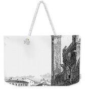Italy: Siena, 19th Century Weekender Tote Bag by Granger