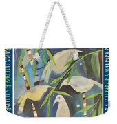 Its A Party Poster Image Weekender Tote Bag