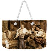 It's More Blessed To Give Weekender Tote Bag