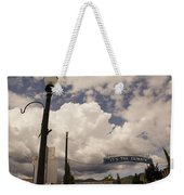 Its The Climate 4 Weekender Tote Bag
