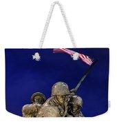 Iwo Jima Memorial Front View Weekender Tote Bag