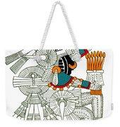 Iztlacoliuhqui, Aztec God Of Frost Weekender Tote Bag