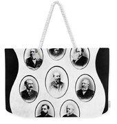 J.a. Garfield: Cabinet Weekender Tote Bag