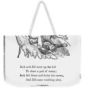 Jack And Jill, 1833 Weekender Tote Bag