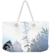 Jack Frost's Ice Forest Weekender Tote Bag
