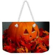 Jack-o-lantern Halloween Display Weekender Tote Bag