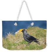 Jackdaw Gathering Nesting Materials Weekender Tote Bag