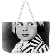 Jackie Coogan (1914-1984) Weekender Tote Bag