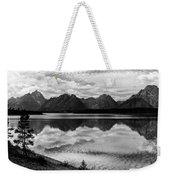 Jackson Lake Wyoming Weekender Tote Bag