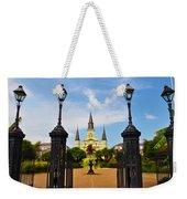 Jackson Square In New Orleans Weekender Tote Bag