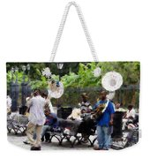 Jackson Square Sound Weekender Tote Bag