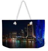 Jacksonville Florida Riverfront Weekender Tote Bag