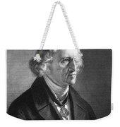 Jacob Grimm (1785-1863) Weekender Tote Bag