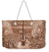 Jacobin Club Meeting Weekender Tote Bag