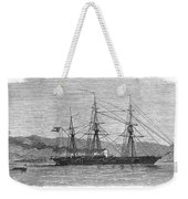 Jamaica: Css Alabama, 1863 Weekender Tote Bag