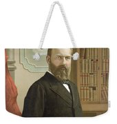 James A. Garfield, 20th American Weekender Tote Bag by Photo Researchers