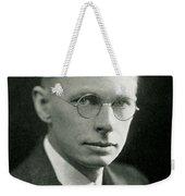 James B. Conant, American Chemist Weekender Tote Bag by Science Source