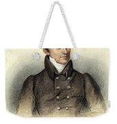 James Fenimore Cooper Weekender Tote Bag