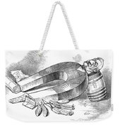 James G. Blaine Cartoon Weekender Tote Bag