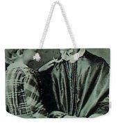 Jane Pierce Weekender Tote Bag by Photo Researchers