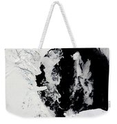 January 18, 2010 - Ross Sea, Antarctica Weekender Tote Bag by Stocktrek Images