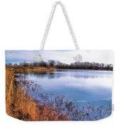 January Bass Pond 2 2012 Weekender Tote Bag