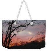 January Sunrise 1 Weekender Tote Bag