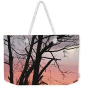 January Sunrise 3 Weekender Tote Bag